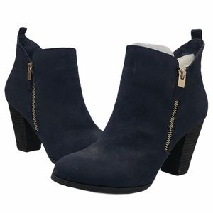 Call It Spring Navy Kokes Ankle Booties